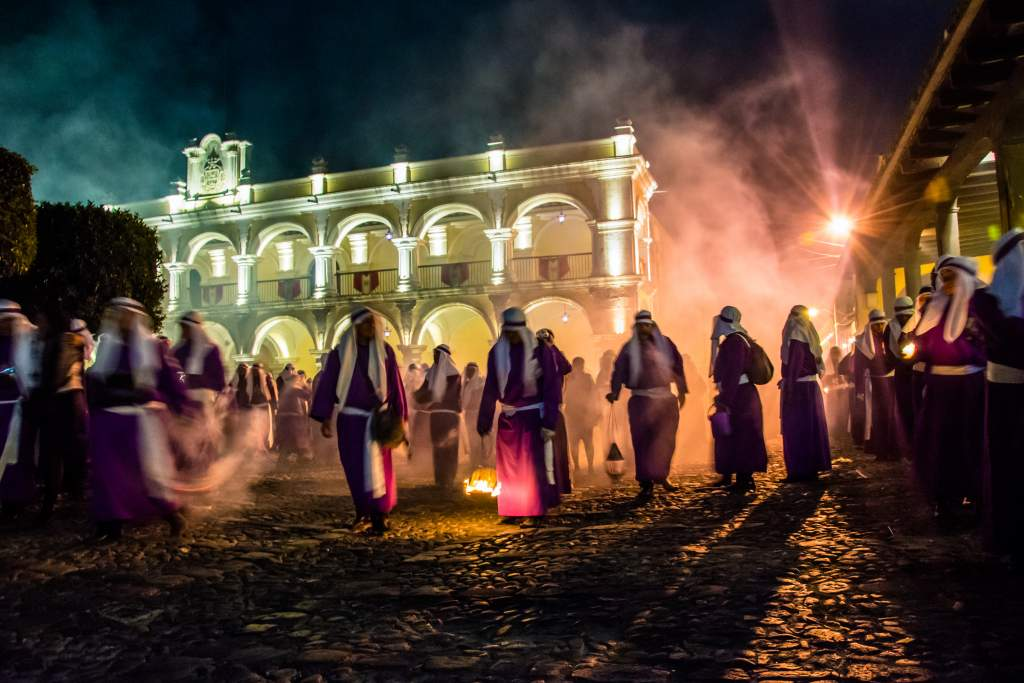 Semana Santa Festival in Guatemala with Inspirit Group Travel