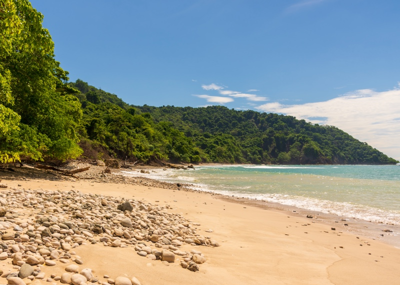 Cabo Blanco Nature Reserve Beach, Costa Rica