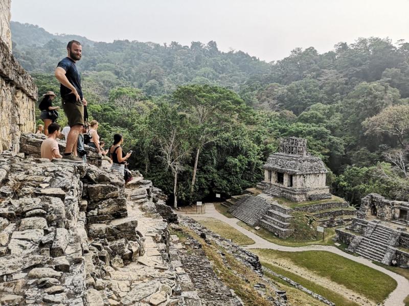 Palenque Archaeology Site, Chiapas
