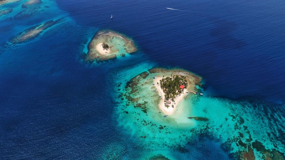 San Blas Islands Ariel View
