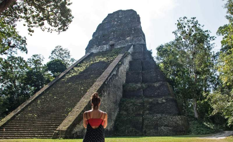 Temple at Tikal, Guatemala with Inspirit Travel