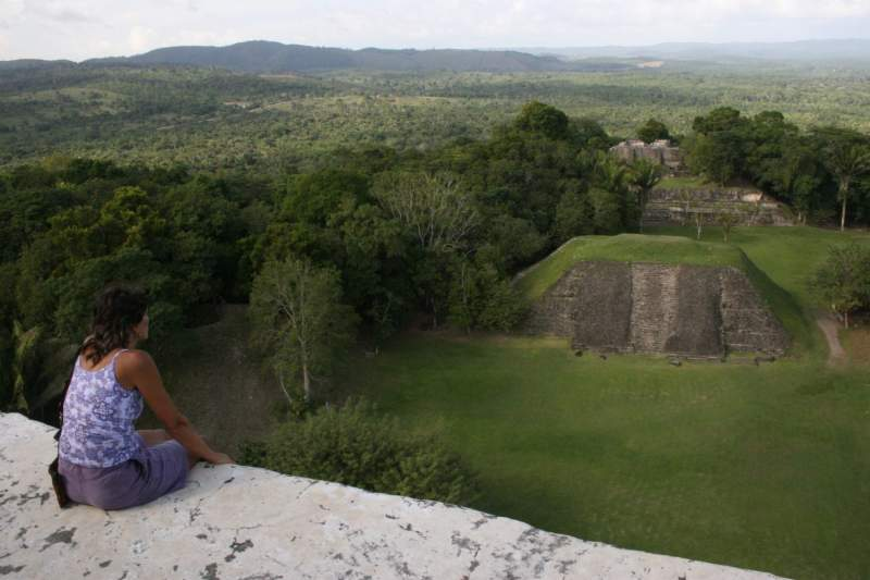Xunantunich Archaeology Site, Belize with Inspirit